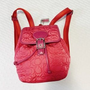 Coach 5164 Signature Quilted Backpack LMTD Edition